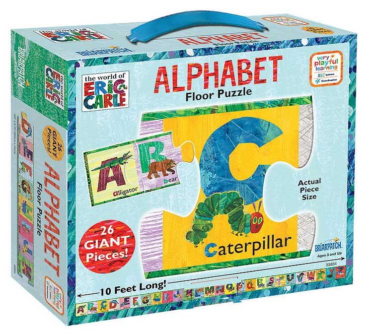 World Of Eric Carle Alphabet Floor Puzzle 26 Giant Pieces