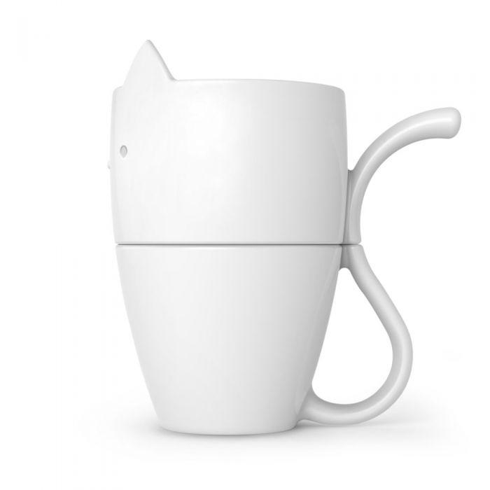 Purr Over Pour Coffee Maker And Mug Set Fred 5229133