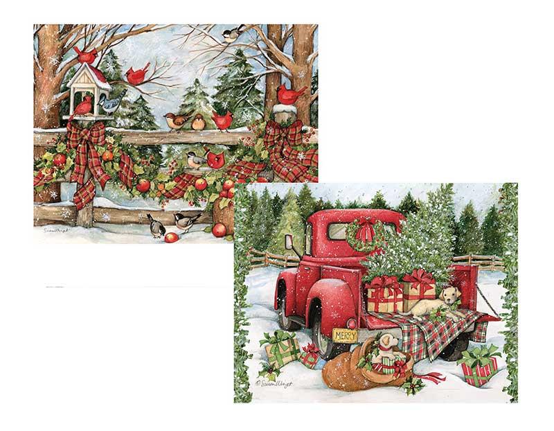 Christmas Journey Assorted Christmas Cards - Lang 1008110 ...