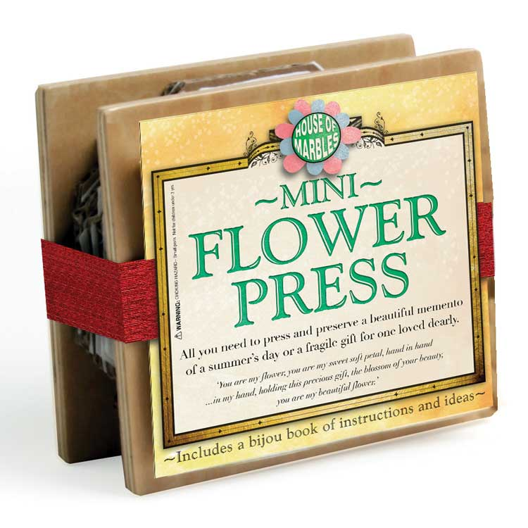 House of Marbles Mini Flower Press 222025