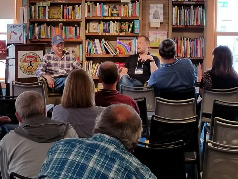 Eric Rickstad in conversation with Peter Swanson
