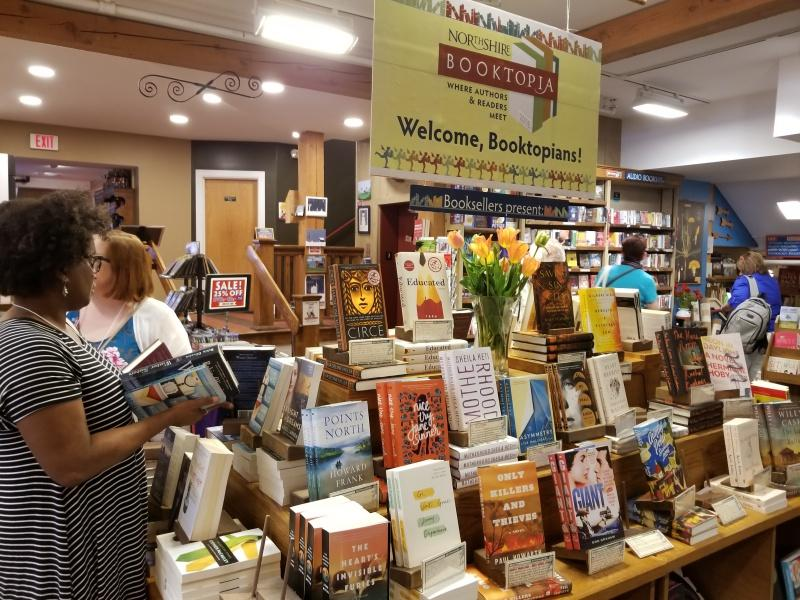 Welcome, Booktopians to the Northshire Bookstore