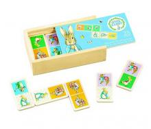 Peter Rabbit Wooden Dominoes Set 28 Pieces