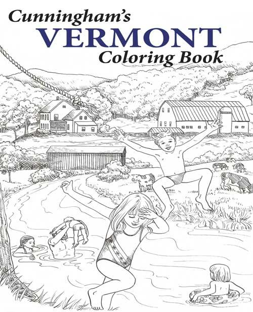 Cunninghams Vermont Coloring Book by Northshire Bookstore ...