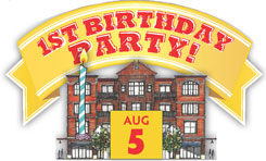 Saratoga Springs 1st Birthday Party